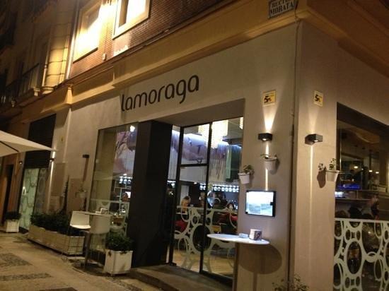 Lamoraga: Granada location.