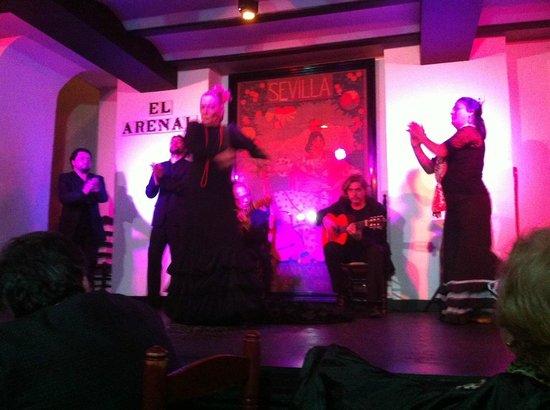 Tablao Flamenco El Arenal : Momento del Espectaculo