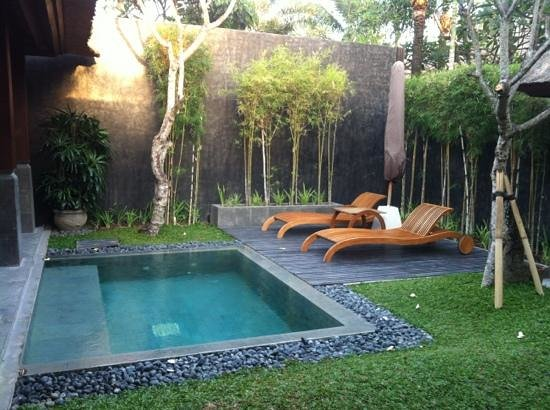 The Kayana Bali: our private pool villa