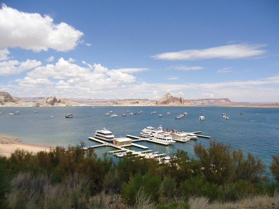 Lake powell resort