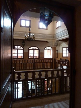 Riad Amssaffah : Beautiful internal architecture