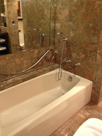 JW Marriott San Francisco Union Square: Shocking Bathroom Design. Basic  Tub, There Is
