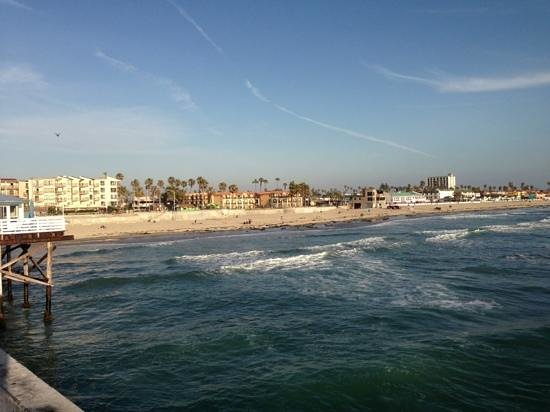 Ocean Park Inn: view from crystal pier