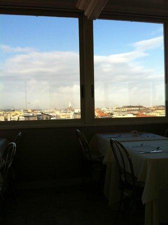 Marcella Royal Hotel: breakfast view