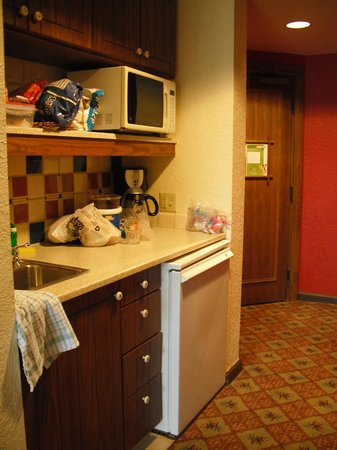Villas at Disney's Wilderness Lodge: Room 3538 kitchenette