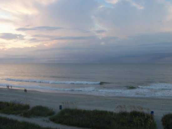 Gazebo Inn Ocean Front: morning