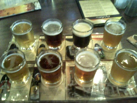 Granite City Food & Brewery : Beer Sampler