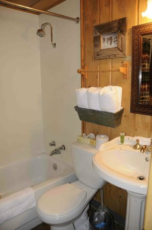 Moose Creek Cabins and Inn: bagno