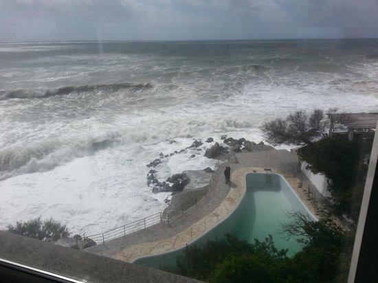 Hotel Ristorante Punta Rossa: veduta dalla sala ristorante
