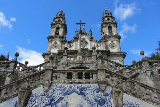 Lamego, Portugal: Outra vista da fachada