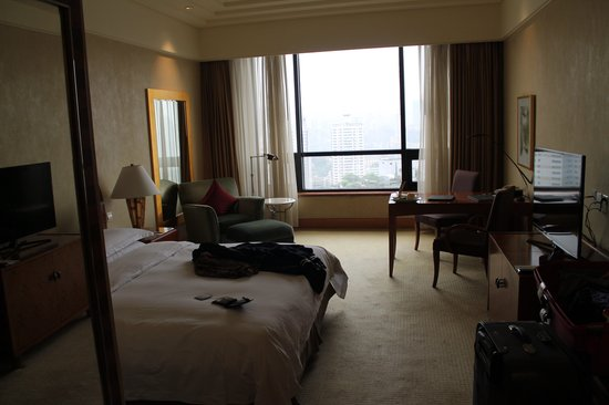 Hilton Chongqing: View from the entrance door
