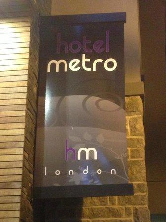 Hotel Metro London