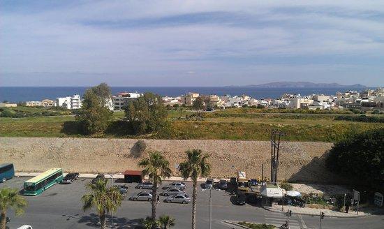 Castello City Hotel: Η θέα από το roof garden