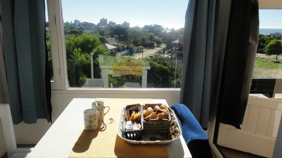 Sidereus Nuncius: Uno puede desayunar con esa vista (también sirve para chequear cómo viene el desayuno)