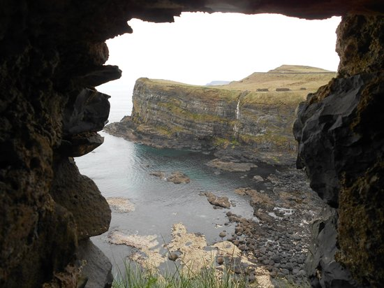 View From Dunluce Castle