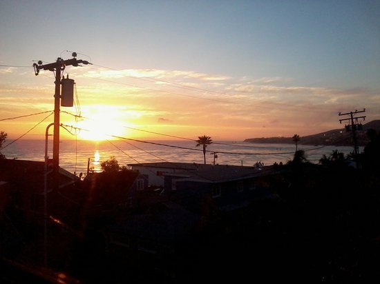 La Casa del Camino: Great sunset view from our room