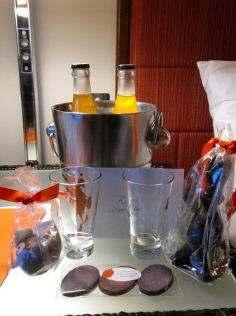 Kimpton Ink48 Hotel: For our daughters' surprise meeting in NYC! Very sweet and thoughtful!