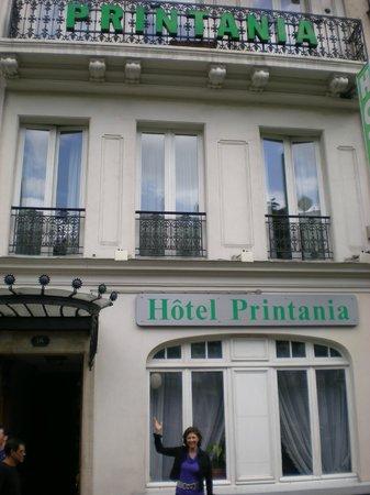 Hotel Printania Temple: fachada do hotel