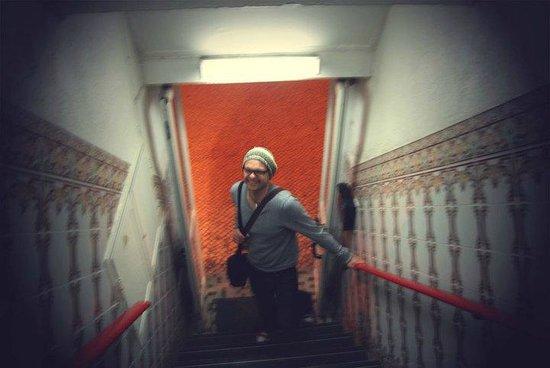 Pensao Modelo: stairs
