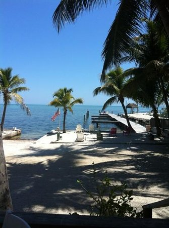 Sands of Islamorada: oceanfront view and boat ramp