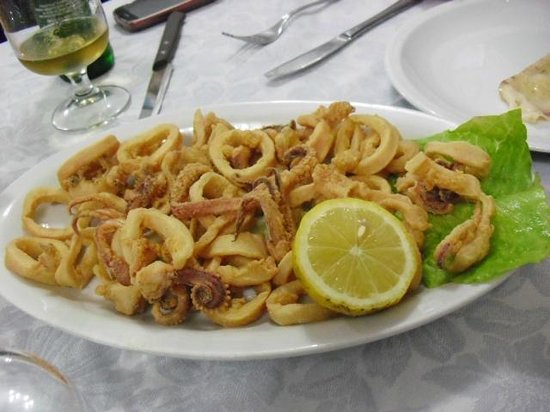 Al Faro da Corrado: fritto misto