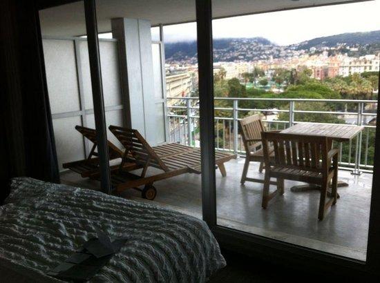 Le Meridien Nice: Terrazzino