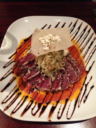 1618 West Seafood Grill: Seared Ahi