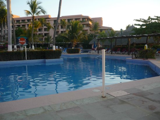 Barcelo Huatulco: one of four pools