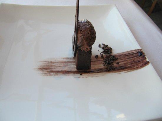 Martin Bosley's Yacht Club Restaurant: chocolate dessert