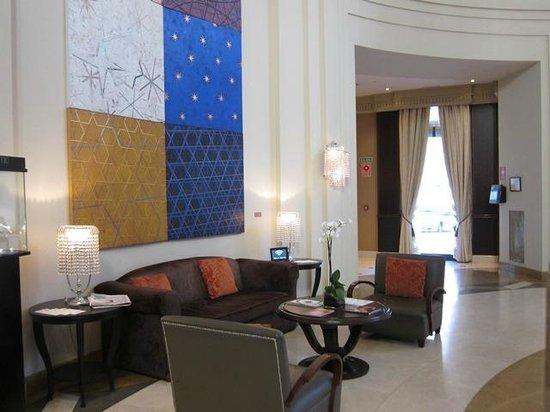 The Westin Valencia: The lobby