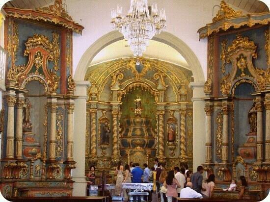 Our Lady of Rosario and Sao Benedito Church: Interior da Igreja do Rosario e São Benedito.