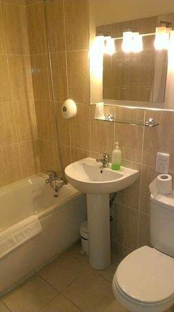 Durker Roods Hotel: double room bathroom