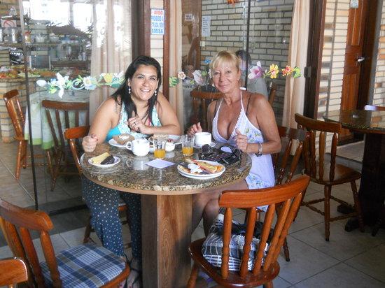 Hotel Pousada Silene: Desayuno mmm....delicias.