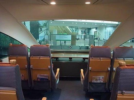 Odakyu Limited Express Romancecar: 最後尾展望席