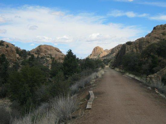 Prescott Peavine National Recreation Trail: Jeep trail
