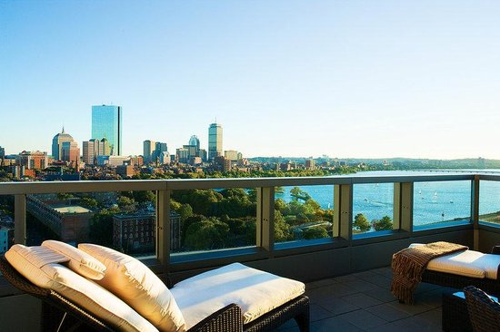 The Liberty, A Luxury Collection Hotel: View From Ebersol Balcony Presidential Suite
