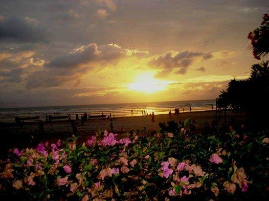 Casa na Praia: Por do sol, vista da suíte