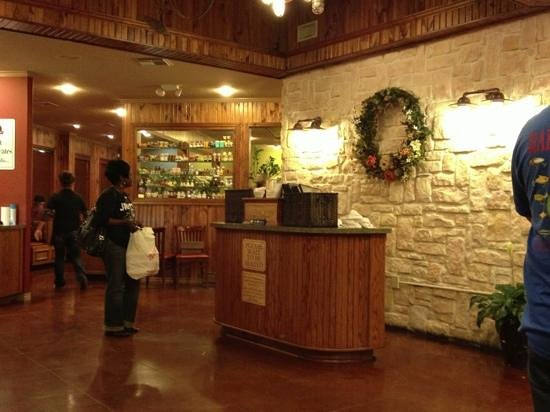 Restaurant Entrance And Hostess Station Picture Of Cedar