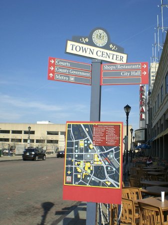 Rockville Town Square: Another Street Sign, Rockville Town Center