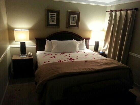 ‪أمباسادور هوتل تولسا أوتوجراف كوليكشن: my girlfriend loved the rose petals on the bed thank you Ambassador‬