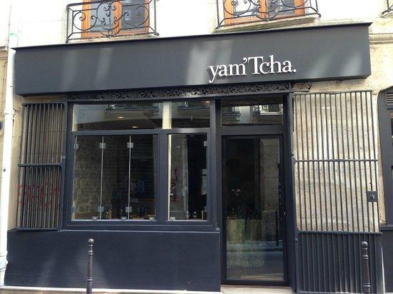 sample menu picture of yam 39 tcha paris tripadvisor. Black Bedroom Furniture Sets. Home Design Ideas
