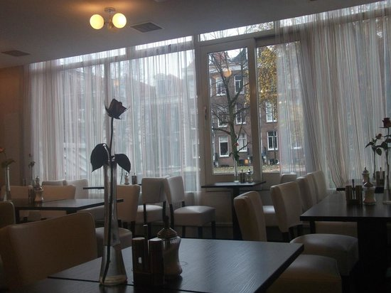 Ibis Styles Amsterdam City: View from our table during Breakfast