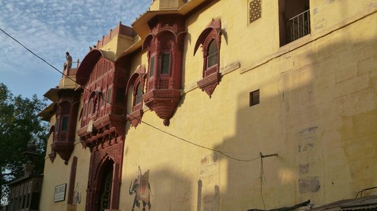 Haveli Inn Pal: The Front of the Hotel