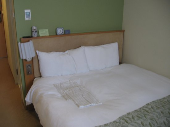 Hotel Sunroute Plaza Shinjuku: Double bed in standard room #1228