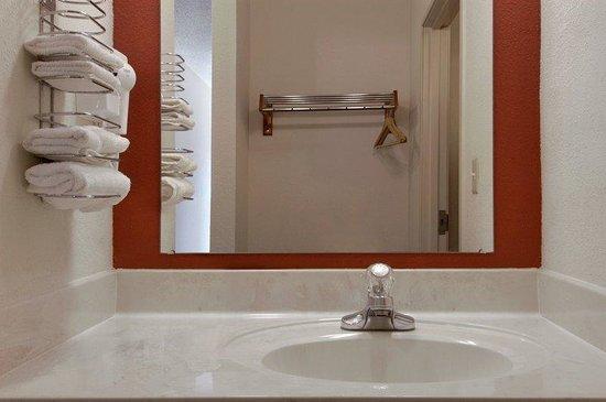 Red Roof Inn Gaffney: Bathroom