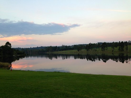 Pine Lake Resort: Lovely view from unit #27