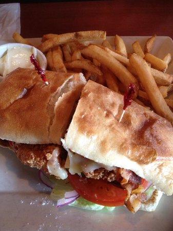 O'Charley's: chicken club