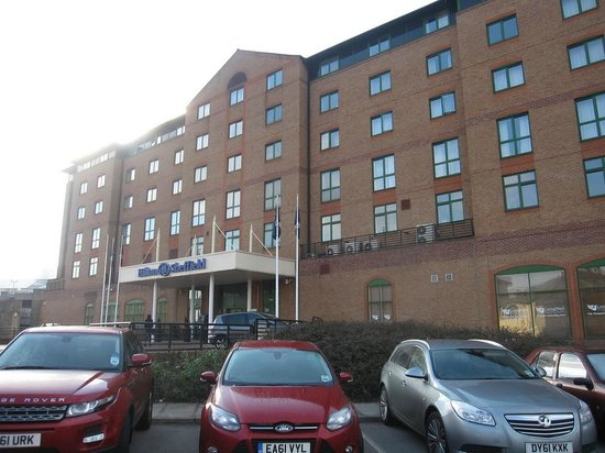 Hilton Sheffield: View from street