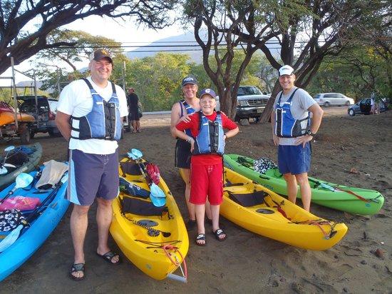 Maui Eco Tours : Blomquist and Greig Families
