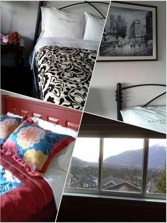 Highlands B&B: Rose room